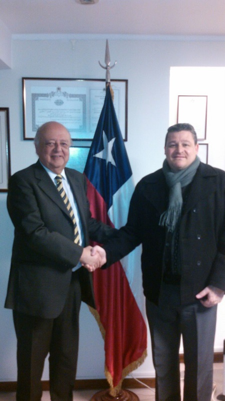 Reunión Embajador Chile
