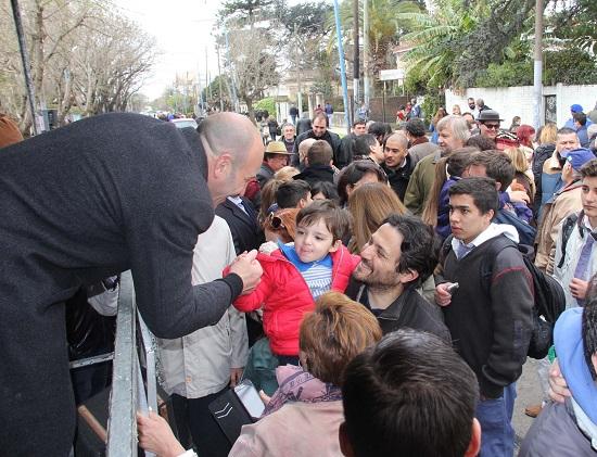 desfile Bernal